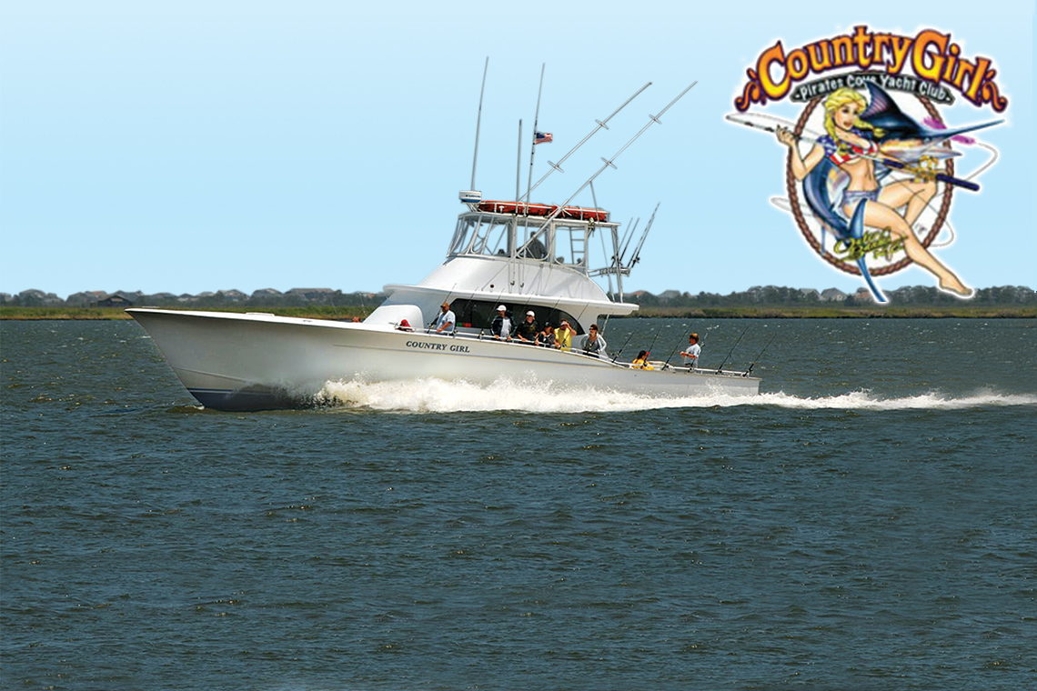 $5 OFF! $5 COUNTRY GIRL ALL DAY WRECK FISHING TRIP