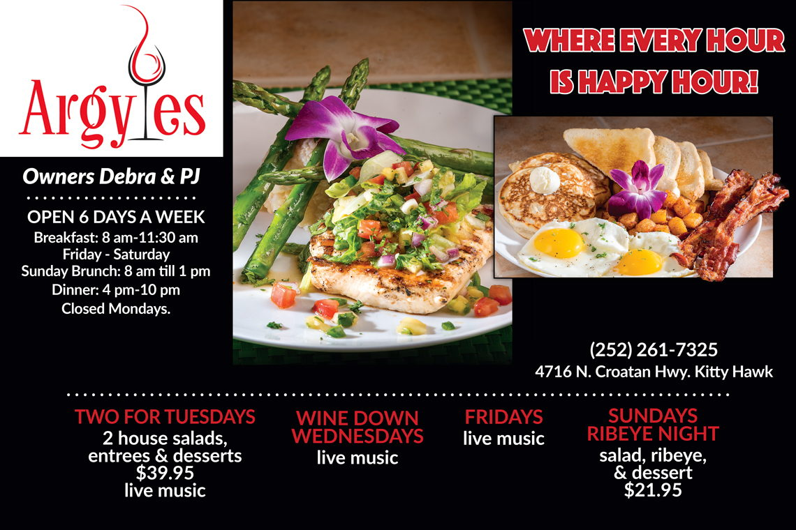 Early Bird Special 20% Off Entrees