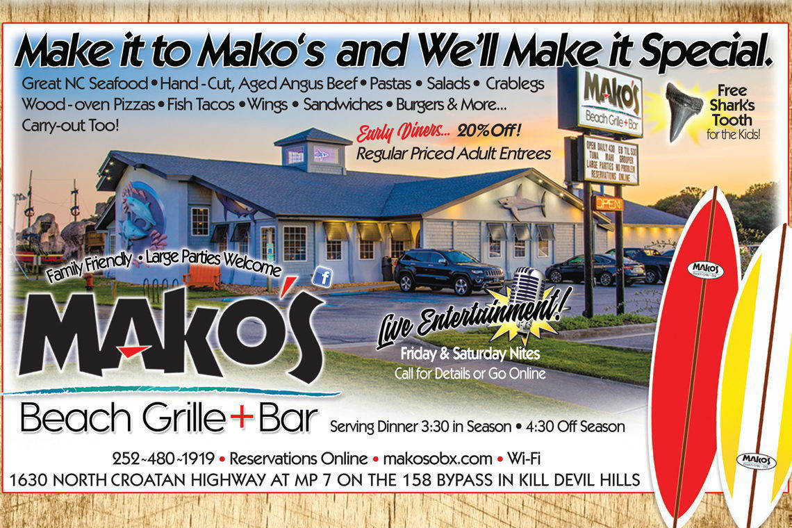 Mako's Beach Grille & Bar