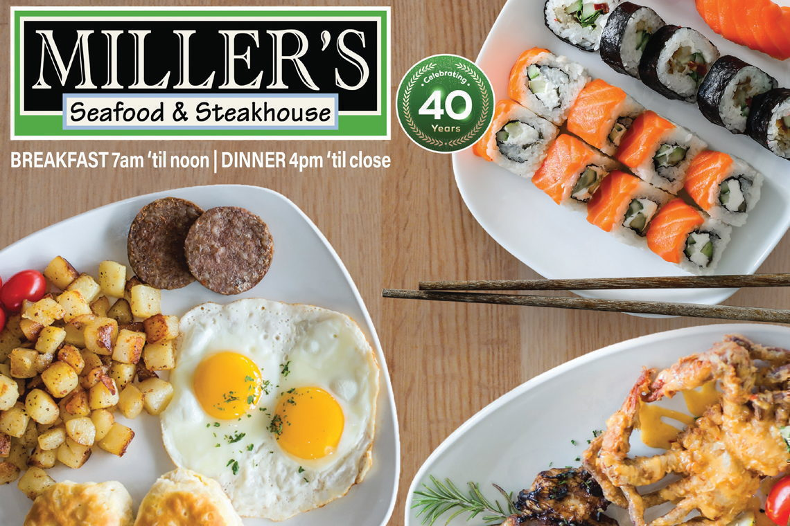 10% OFF  BREAKFAST ENTRÉES FOR YOUR WHOLE PARTY