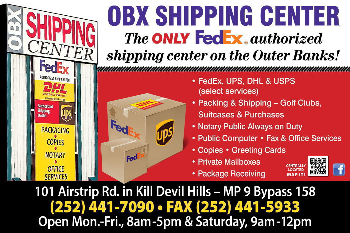 OBX Shipping Center