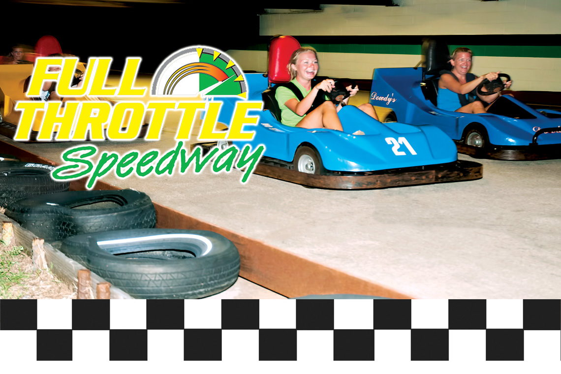 EARLY BIRD SPECIAL $1.00 OFF GA-KART RIDES