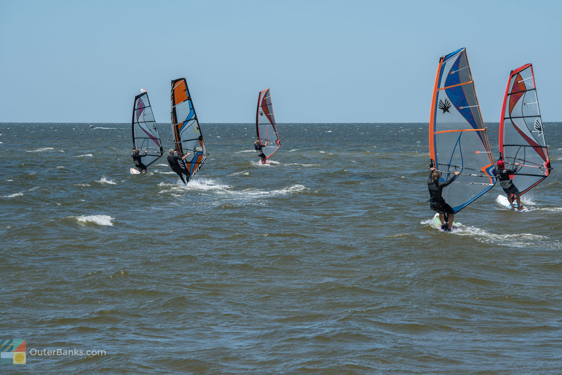 Windsurfing the Outer Banks