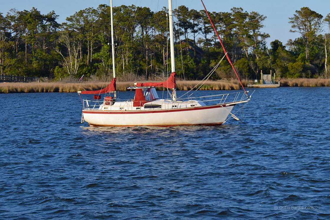 Sailing the Outer Banks